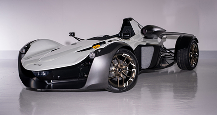 3D printing aids design and testing of BAC Mono R