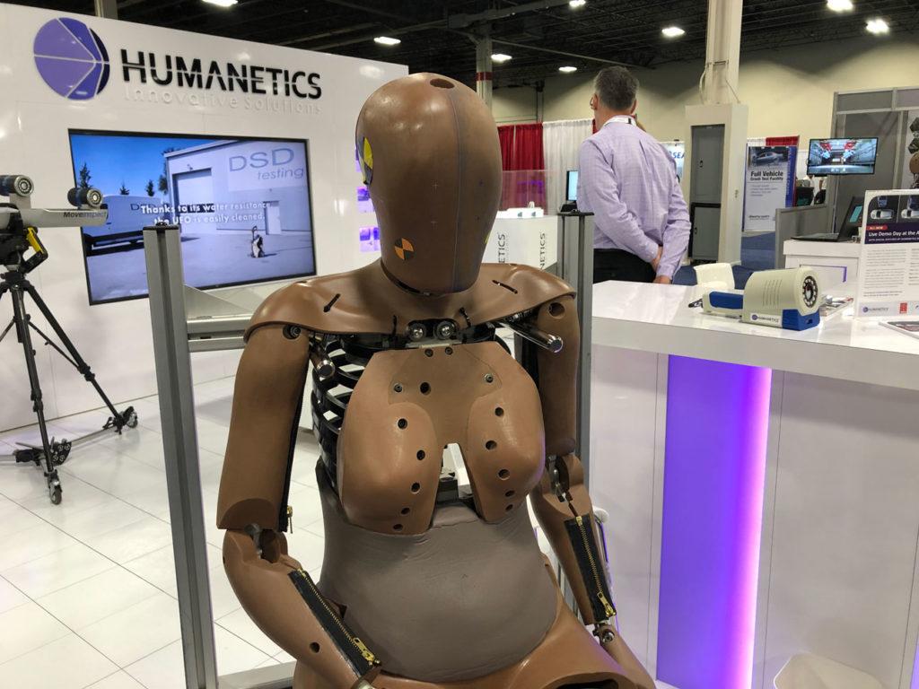 Humanetics Testing Expo Novi