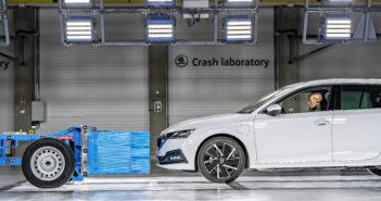 Škoda opens crash test center in Czech Republic