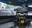 A look at the Porsche Racing simulator