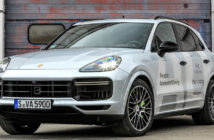 Porsche tests autonomous driving in workshop