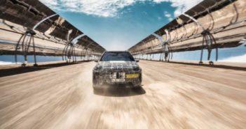 BMW tests iNext in Kalahari Desert