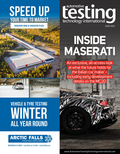 Automotive Testing Technology International Magazine June 2020