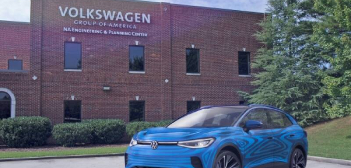 Volkswagen has begun expanding its factory in Chattanooga, Tennessee