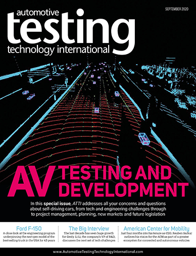 Automotive Testing Technology International Magazine September 2020