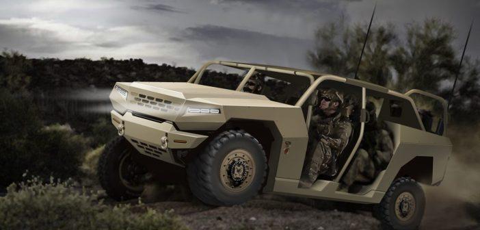 Kia develops combat vehicles with new military standard platform