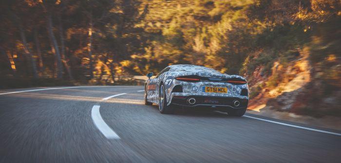McLaren GT in testing