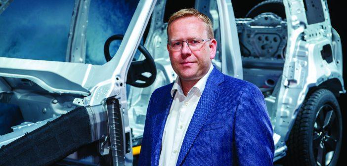 Nick Collins, vehicle line director, Jaguar Land Rover