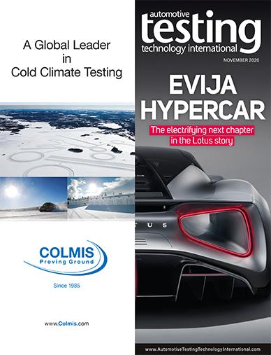 Automotive Testing Technology International Magazine September 2020