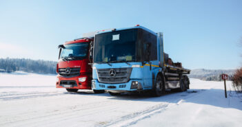 Mercedes-Benz eActros and eEconic undergo cold weather testing