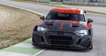 Audi's RS 3 LMS race car has been scrutinized in the wind tunnel and on track