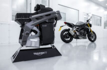 Project Triumph TE-1 electric motorcycle