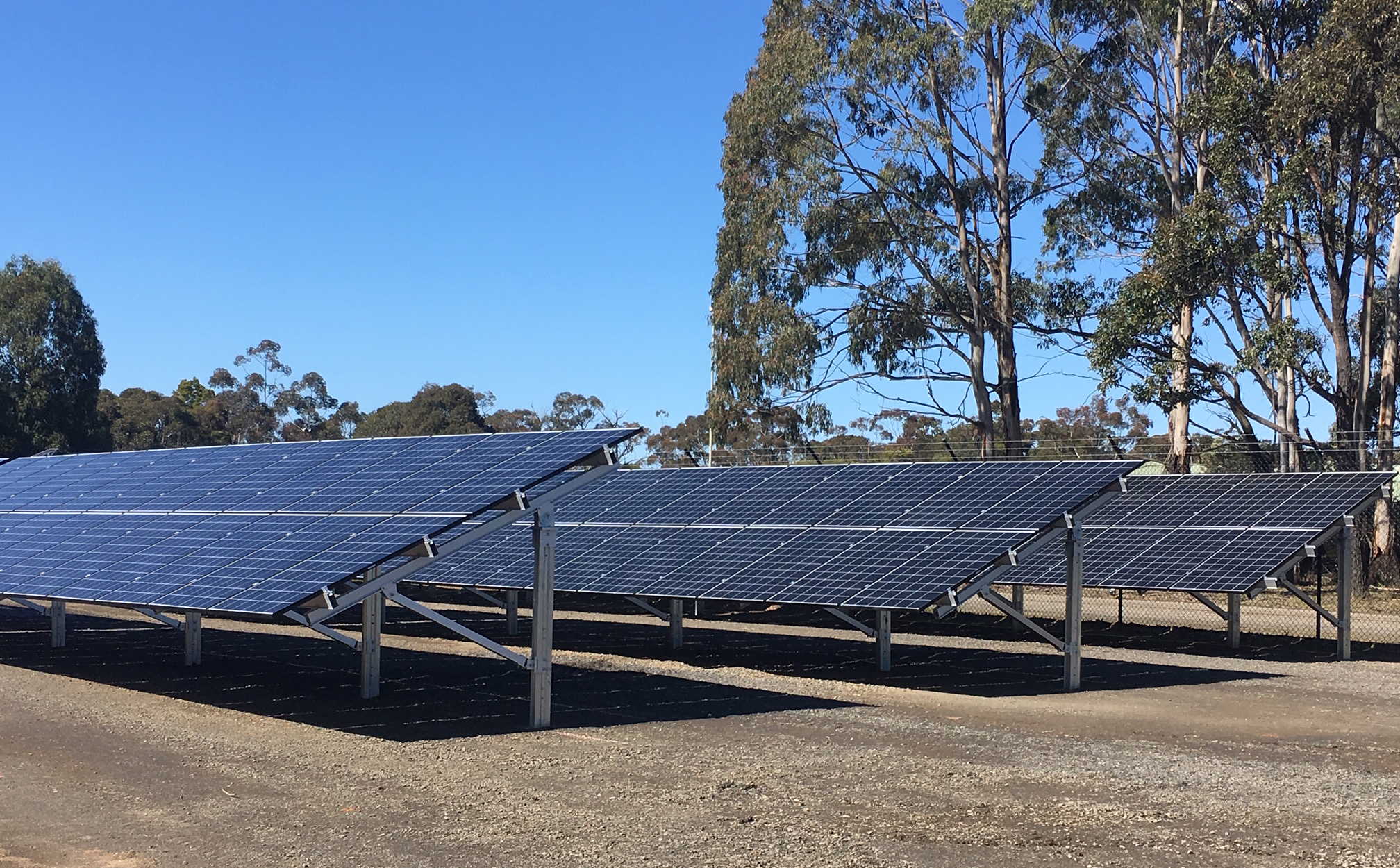 A new solar system at AARC enables 24/7 power on-site