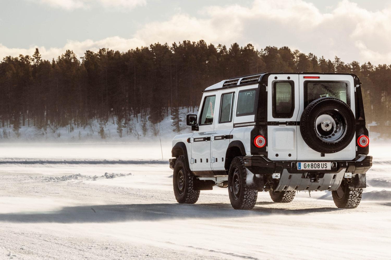 A Grenadier prototype undergoes testing Sweden