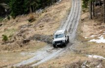 The Ineos Grenadier tackles Austria's Schöckl mountain in dynamic testing