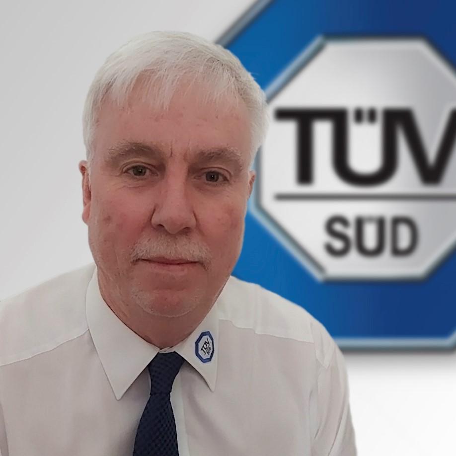 Craig Ormerod, senior manager at TÜV SÜD