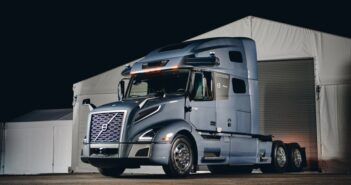 Volvo Autonomous Solutions and Aurora reveal prototype VNL truck integrated with Aurora Driver tech