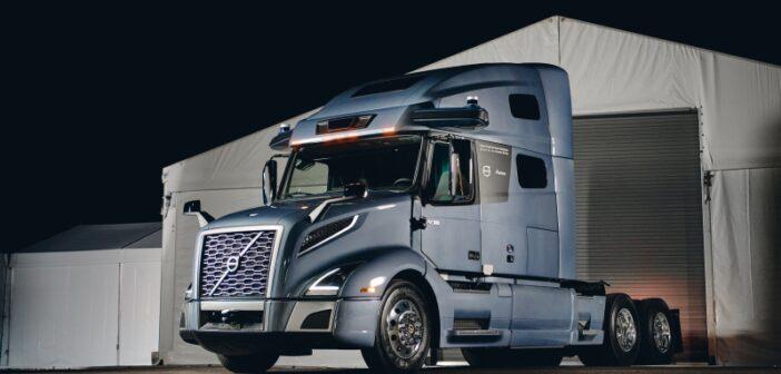 Prototype long-haul autonomous truck unveiled by Volvo Autonomous Solutions