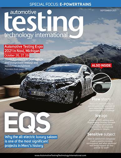 Automotive Testing Technology International Magazine September 2021