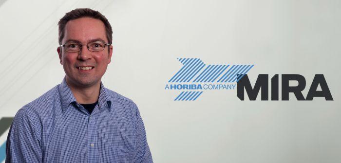 Paul Wooderson, chief engineer and cybersecurity team leader at Horiba MIRA