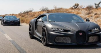 Bugatti has tested the Centodieci along with the Chiron Pur Sports and the Super Sports in the Arizona desert